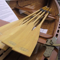 Grapeview Point Boat Works Spoon-bladed Oars